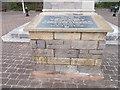 SX9980 : Second World War memorial by Clock Tower - Esplanade by Betty Longbottom