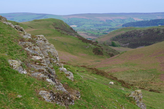 View in the heart of the Carneddau hills