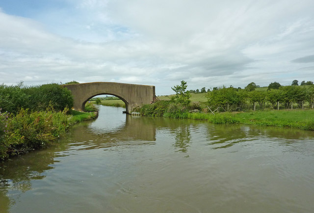 Ridley's Bridge north-west of Braunston in Northamptonshire
