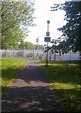 SO9096 : School Path by Gordon Griffiths