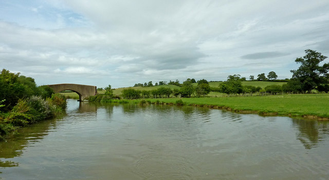 Oxford Canal north-west of Braunston in Northamptonshire