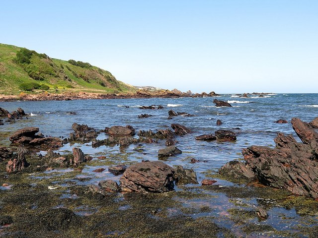 Rocks at Linkim Shore