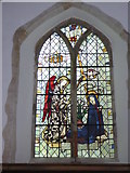 TR1859 : The  east window, church of St. Mary the Virgin, Fordwich by pam fray