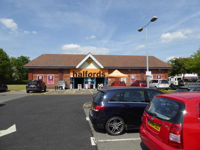 Part of Meole Brace Retail Park, Shrewsbury