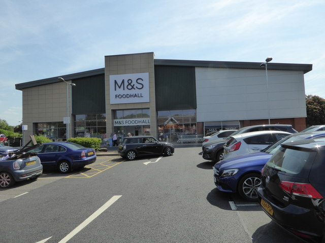 Part of Meole Brace Retail Park, Shrewsbury