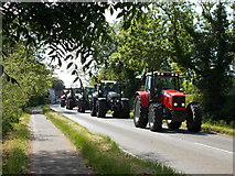 TF1605 : Tractor road run for charity, Glinton by Paul Bryan