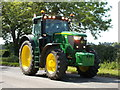 TF1605 : John Deere tractor, Glinton by Paul Bryan