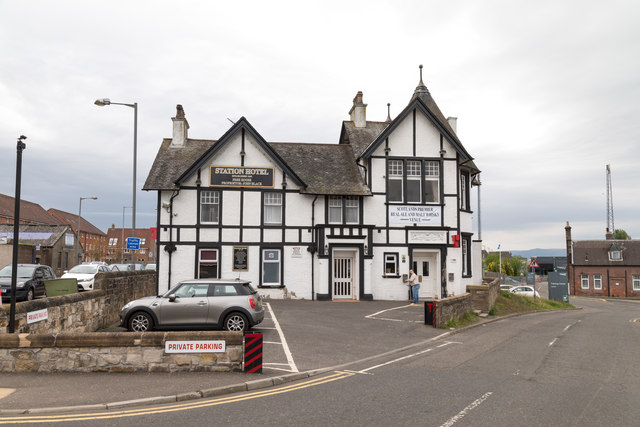 The Station Hotel in Larbert