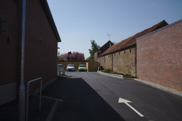 Car park entrance