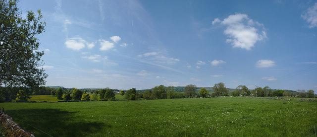 Derbyshire hillside