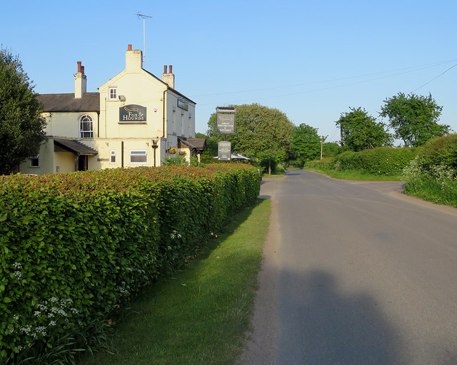 Blidworth Bottoms: The Fox & Hounds