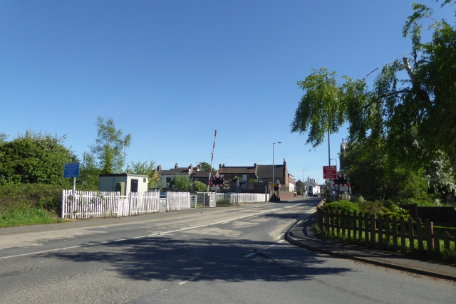 Towards the level crossing