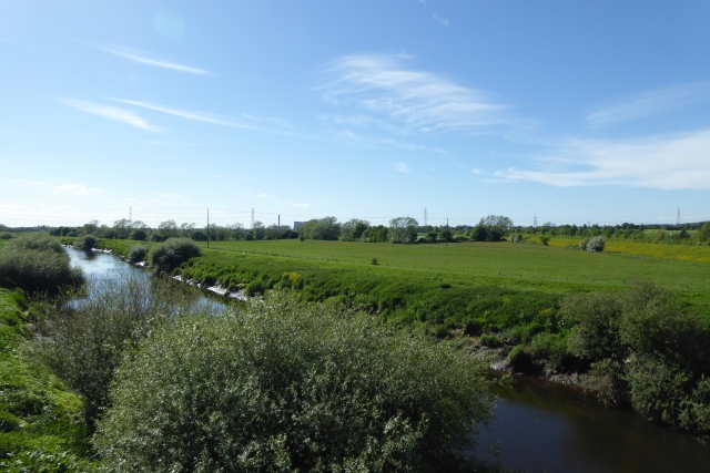 River Aire from Ferry Lane