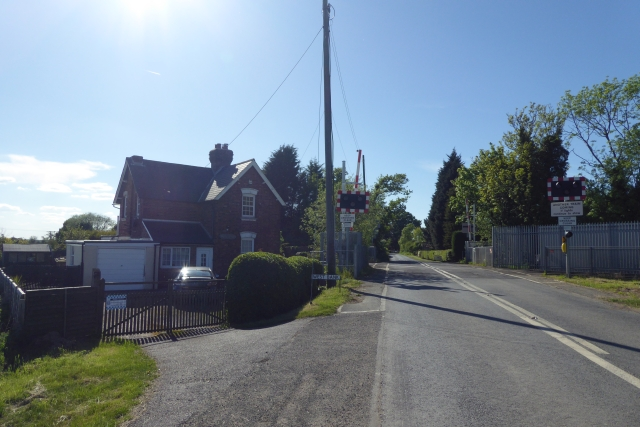 Level Crossing over Hirst Road