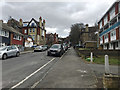 TQ3370 : Northeast and uphill on Bedwardine Road, Upper Norwood, south London by Robin Stott