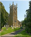 SK6515 : Church of the Holy Trinity, Thrussington by Alan Murray-Rust