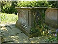 SK6515 : Tomb of Joseph Beasley, Thrussington churchyard by Alan Murray-Rust