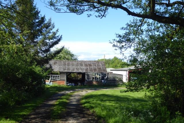 Farm buildings off Hirst Road