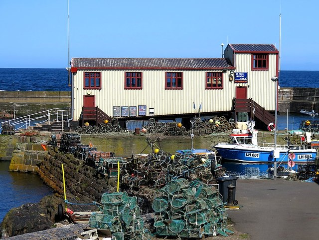 Lifeboat Station, St Abbs Harbour
