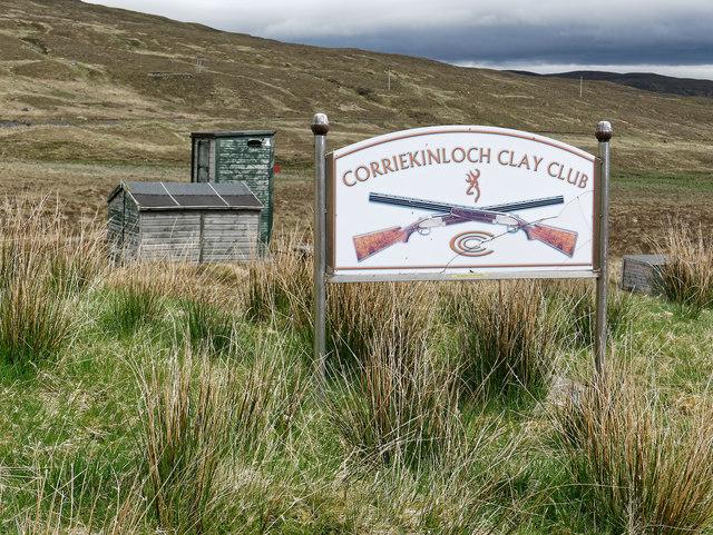 Facilities of the Corriekinloch Clay Club