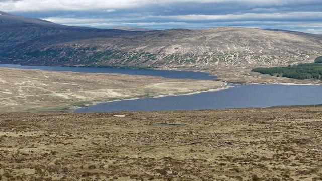 Moorland above Loch Shin