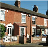 TG2407 : Cottages in Cozens Road by Evelyn Simak