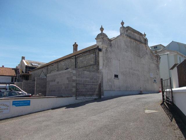 Former cinema - off Harbour Road
