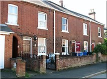 TG2407 : Terraced cottage to let in Cozens Road by Evelyn Simak