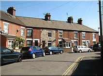 TG2407 : A terrace of cottages in Cozens Road by Evelyn Simak
