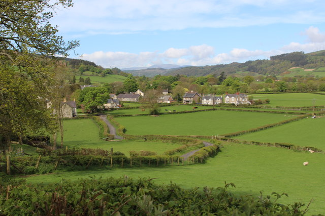 View of Llandrillo