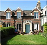 TG2407 : The Railway Cottages - 9 Cozens Road by Evelyn Simak