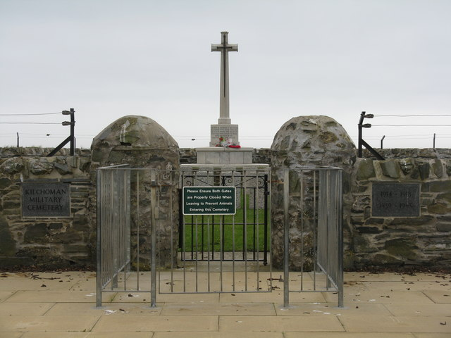 The entrance to The American Cemetery