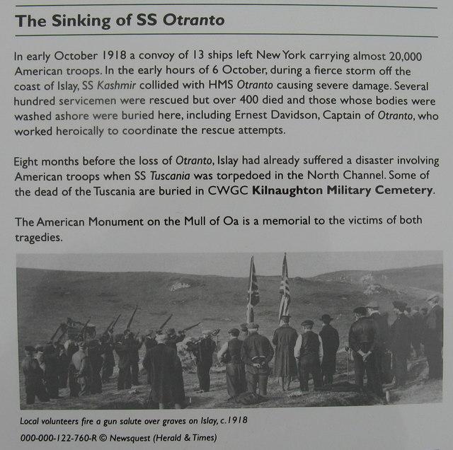The Sinking of SS 'Otranto'