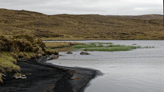 Black peat of Loch nan Sgaraig
