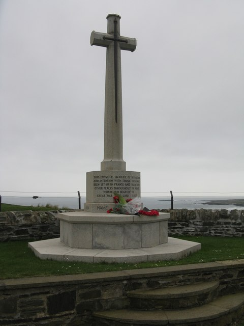 The Cross of Sacrifice at Kilchoman