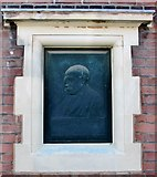 TG2407 : Commemorative tablet in memory of William Harding Scott by Evelyn Simak