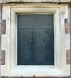 TG2407 : The Gothic Works in Hardy Road (war memorial) by Evelyn Simak