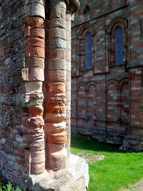 Stonework, Coldingham Priory