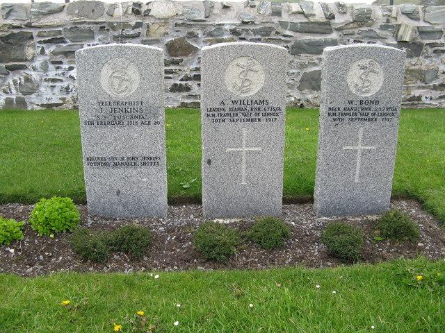Commonwealth War Graves at Kilchoman