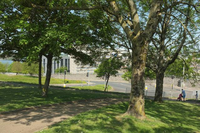 Corner of Devonport Park