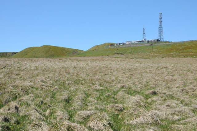 The Radar Station on Titterstone Clee Hill