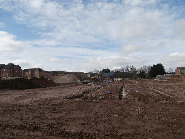 Preparing the ground, Caerphilly Rd, Cardiff