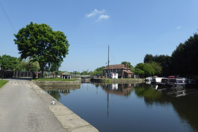 Start of the Selby Canal