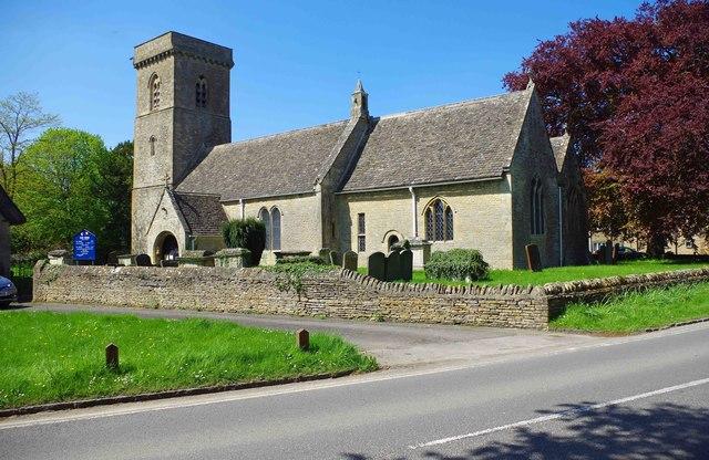 Church of St. Britius, Station Road, Brize Norton, Oxon