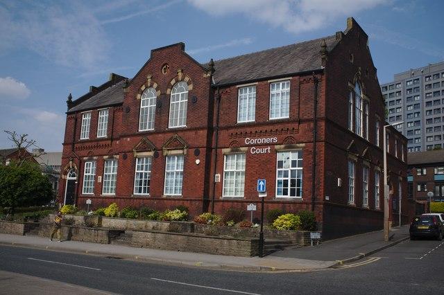 Stockport Coroner's court