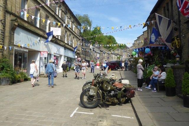 Wartime motorbikes