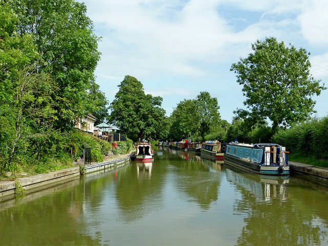 Grand Union Canal at Braunston in Northamptonshire