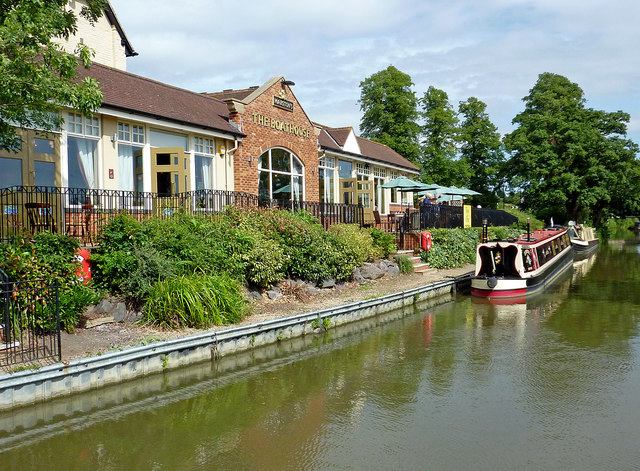 The Boathouse in Braunston, Northamptonshire