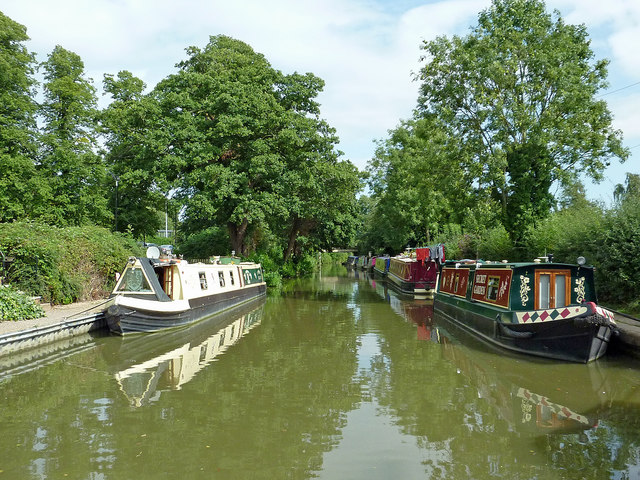 Grand Union Canal near Braunston in Northamptonshire