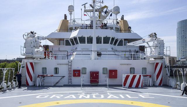 Onboard the 'Granuaile'